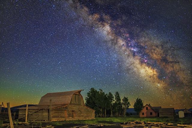 Moulton Barn Milky Way Stack