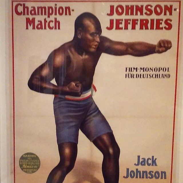 Jack Johnson: champion heavyweight boxer