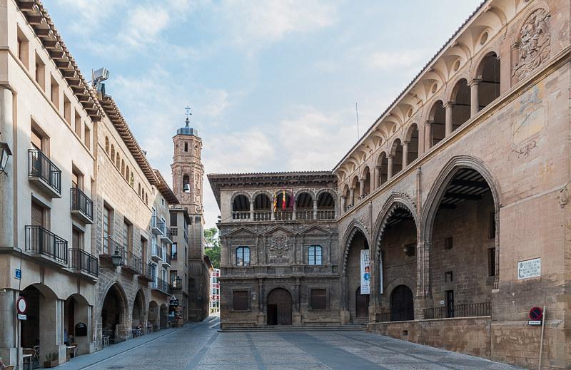 Plaza de España, Alcañiz | Alcañiz (Teruel), Plaza de España… | Flickr