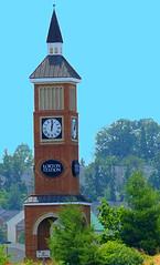 Train Station Clock Lorton Virginia