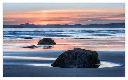 sunset beach landscape coast rocks time pembokeshire druidstonhaven photostyles