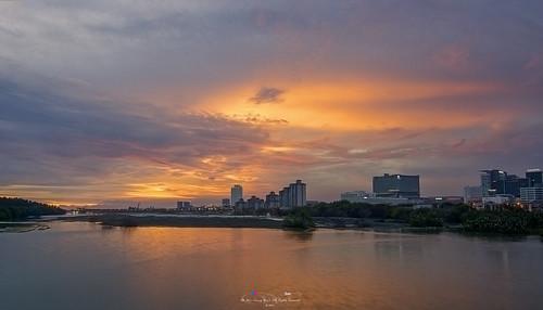 ahweilungwei sunsets sunset masjidselatmelaka malaccastraitsmosque nikond7000 nikon tokina1116mm tokina1116mmf28 tokina melaka malaysia 马六甲 晚霞 夕阳 日落 马来西亚