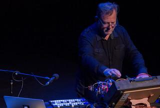 Garth Paine keynote concert @ NIME 2016   by johnrobertferguson