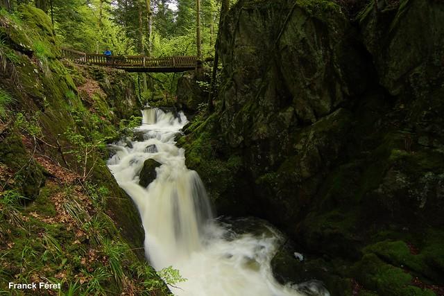 Cascade du Géhard - Girmont Val d'Ajol - Vosges
