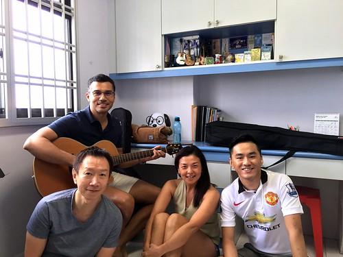 Guitar lessons Singapore Vincent Sella Hwee Ping