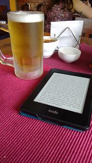 Lunch and Beer at La Ultima Frontera, Valdivia, Los Ríos, Chile   by blueskylimit