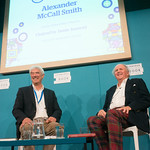 Alexander McCall Smith   Irresistibly entertaining, McCall Smith is a cornerstone of Edinburgh literary life and a global publishing sensation  © Alan McCredie