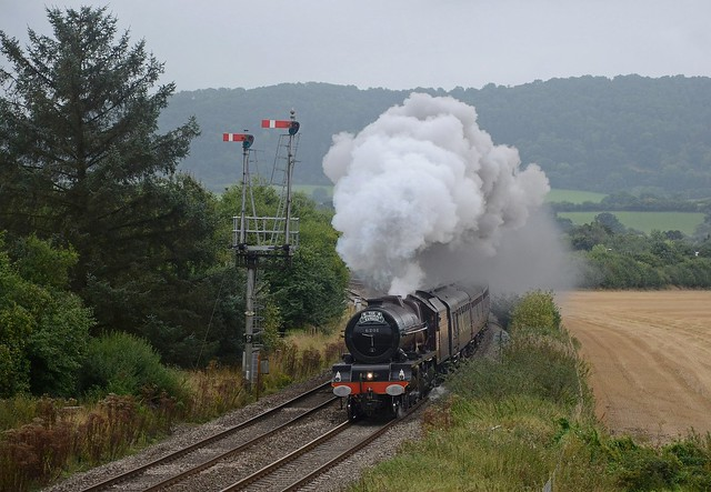 6201 passing Craven Arms