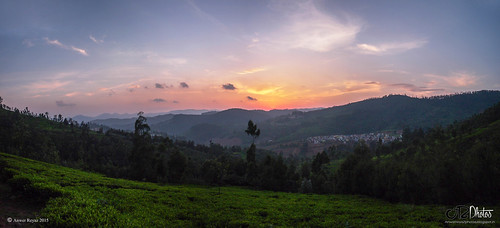 sunset ooty