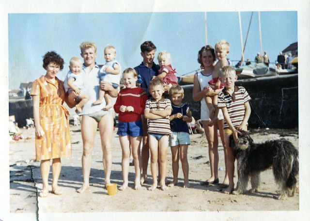 1963 - ron and Val w dave and Jan and families and Beauty
