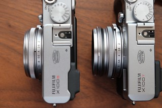 X100SとX100T+アダプター+フィルター | by hvc-001