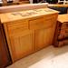 Ash veneer sideboard