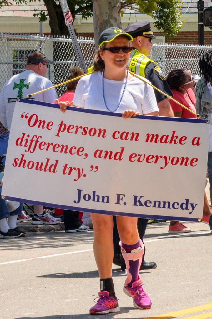 #DorchesterDay Parade sign: