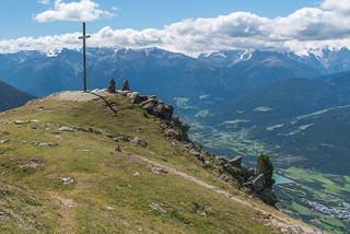 Gipfel Spitzige Lun, 2324 m, Obervinschgau, Ortlerberge