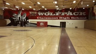 Claremont wall 1 - gym graphics | by MrBigCity