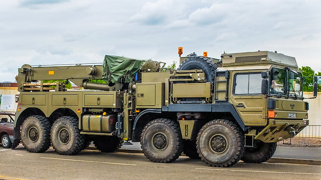 2009 MAN 8X8 Heavy recovery vehicle of the REME.