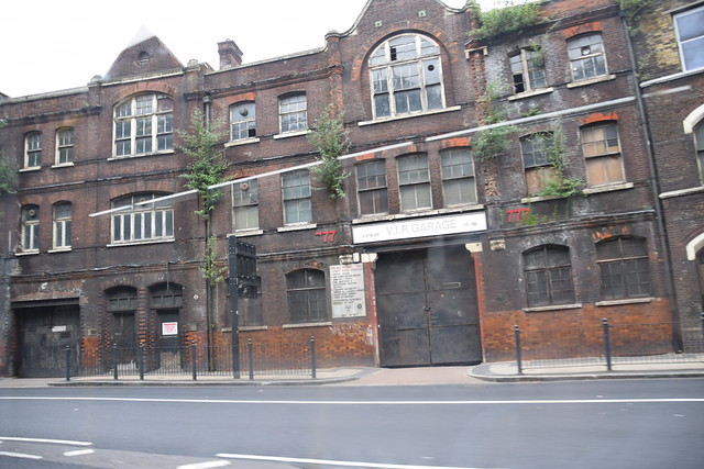 DSC_7660 London Bus Route #135 Whitechapel VIP Garage Urban Decay