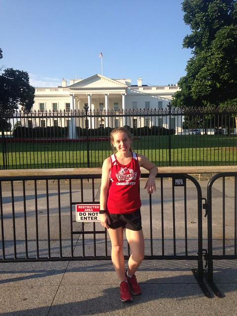 Brooke Runyon in Washington D.C.