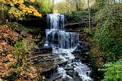13 West Milton Cascades in autumn, West Milton, Ohio