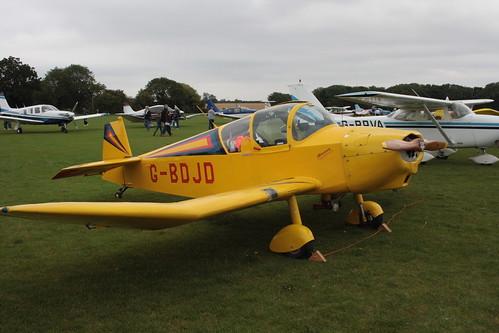 G-BDJD Jodel D.112 [PFA 910] Sywell 030911