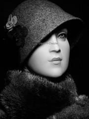 Art Deco Millinery bust