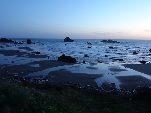 Dusk on the Pacific