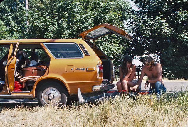 Camping holidays in summer 1976