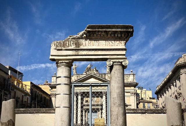 Roman amphitheater, Catania