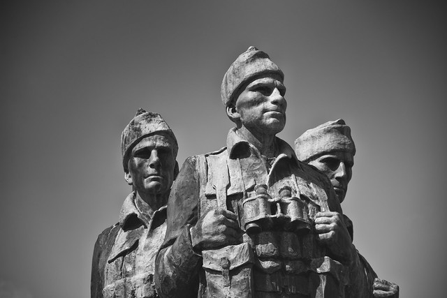 Commandos war memorial in Scotland (3)