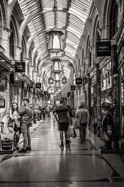 146/365: The Royal Arcade