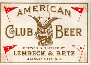 American-Club-Beer-Labels-Lembeck--Betz-Eagle-Brewing-Co | by jbrookston