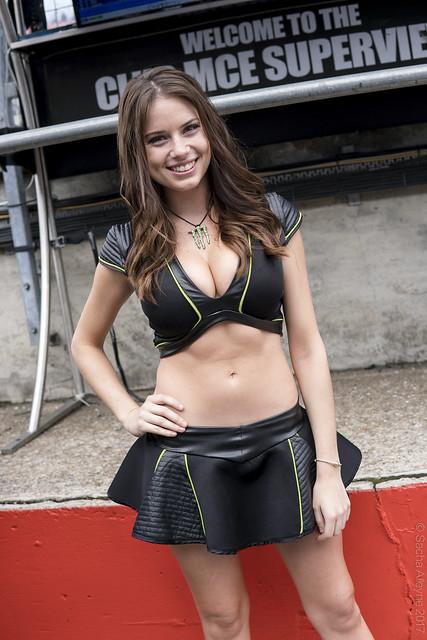 BSB Brands Hatch GP 2017 - Monster Energy grid girl