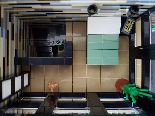 Vanilla House MOC bedroom overview