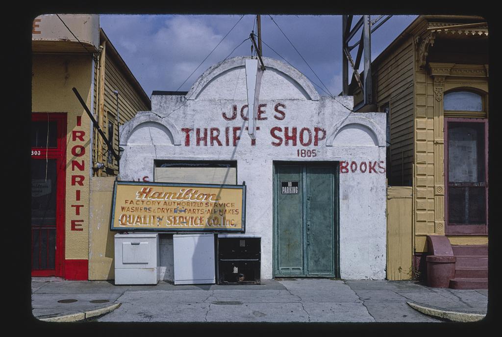 Joe's Thrift Shop, Rampart & Anthony Streets, New Orleans, Louisiana (LOC)