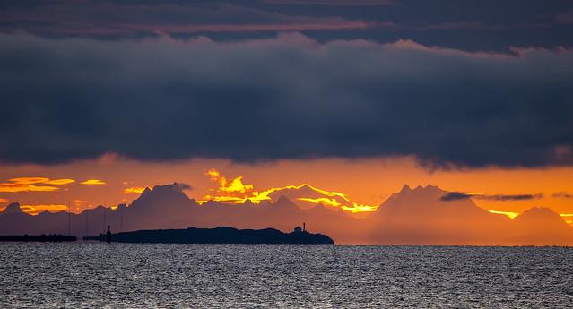 Trial Island Sunrise