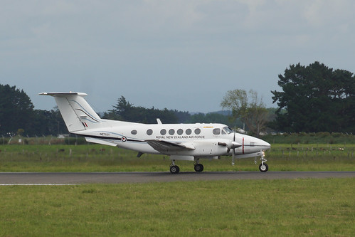Royal New Zealand Air Force Beech Super King Air  NZ7121 - RNZAF Base Ohakea | by Neil Pulling