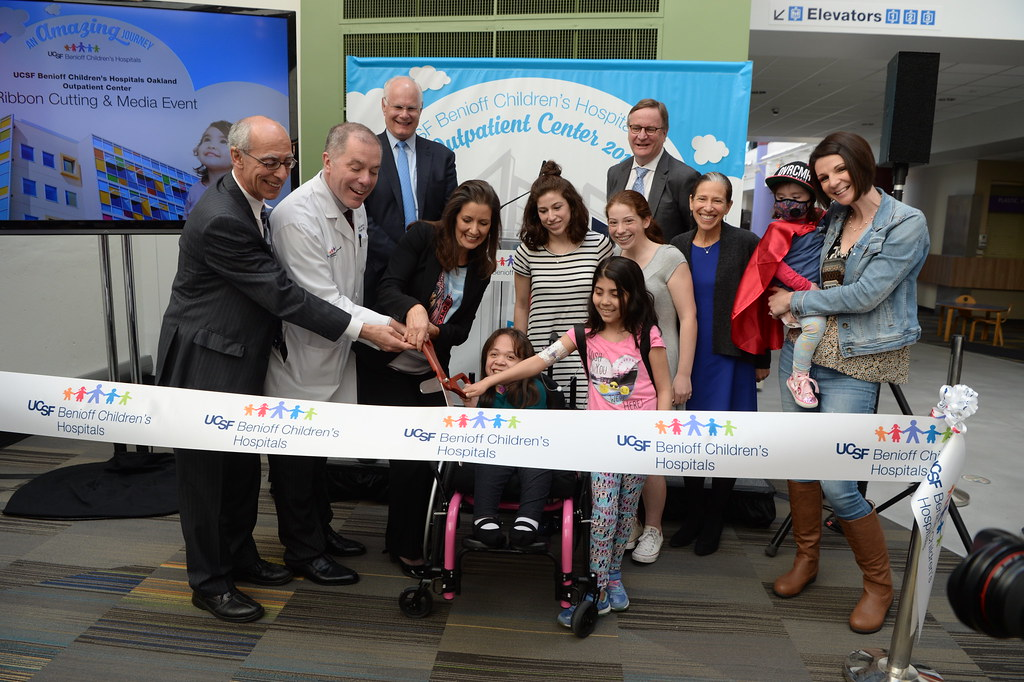 Outpatient Center Ribbon Cutting | 04 19 2018 | UCSF Benioff