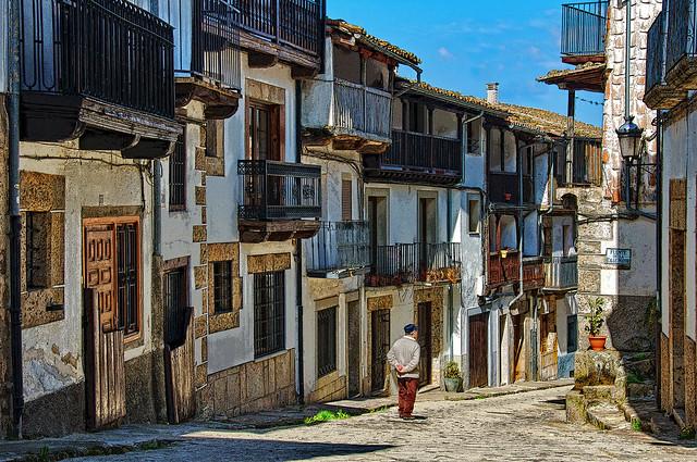Calle Mayor de Candelario