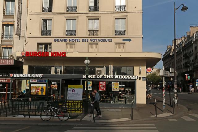 Burger King Paris Gare de l'Est (France)