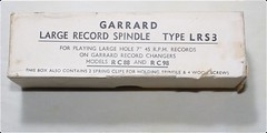 Garrard Large Record Spindle LRS3