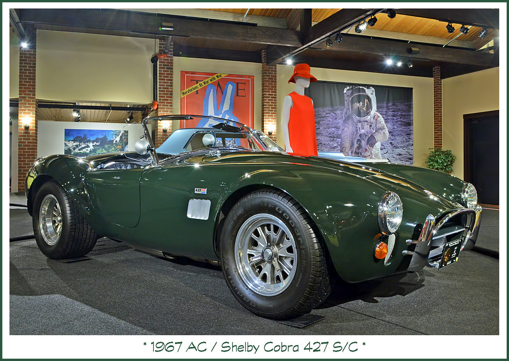 1967 AC / Shelby Cobra 427 S/C | Visit to the Gilmore Car Mu