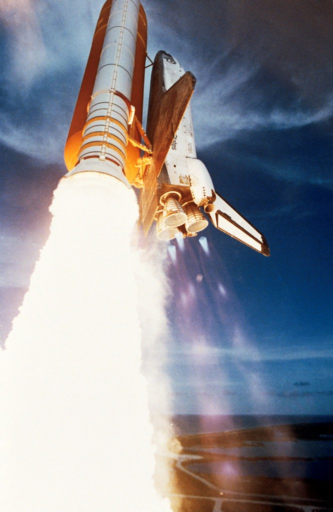 STS 51-F launch