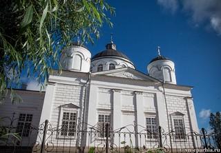 Литургия в Ильинском соборе 30