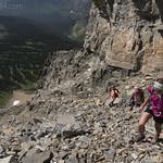 Climbing Mt. Siyeh