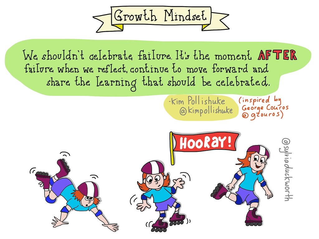Growth Mindset and Failure | sylviaduckworth | Flickr