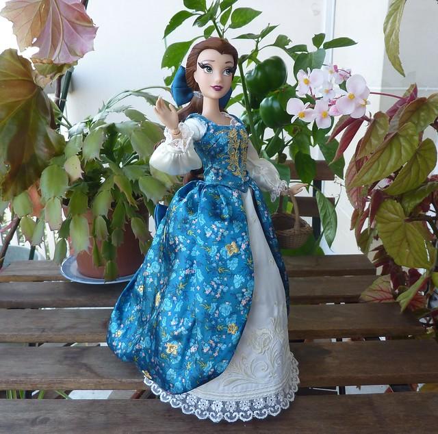 disney designer fairytale belle and gaston dolls