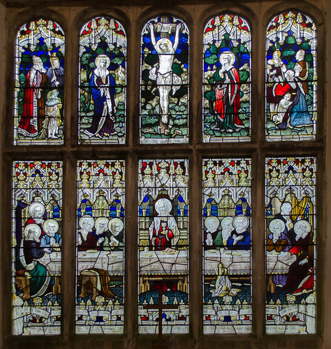 Stained glass window, St Michael's church, Glentworth | by Jules & Jenny