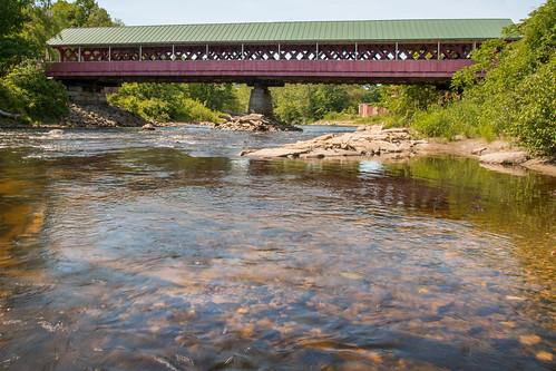 water river newhampshire nh coveredbridge 1832 ashuelotriver thompsonbridge nikond800 richhaig nikonafsnikkor24120mm14ged