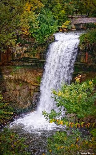 minnehaha falls minneapolis minnesota minn mn city park creek longfellow hiawatha nokomis onlyinmn outdoors hiking picnic photography samsung galaxy s5 flickriver