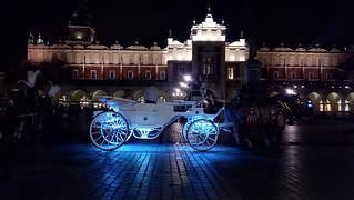 A carriage on Main square in Krakow | by bohumir.zamecnik